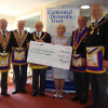 Mark Master Masons Present £1,000 to the Contented Dementia Trust