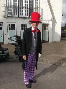 David Ottewell as the Mad Hatter